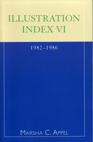 Cover image for the book Illustration Index VI: 1982-1986