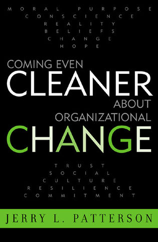 Cover image for the book Coming Even Cleaner About Organizational Change