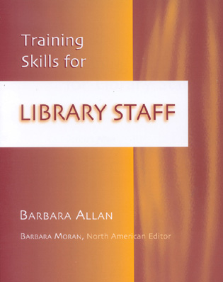 Cover image for the book Training Skills for Library Staff