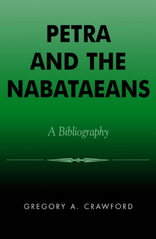 Cover image for the book Petra and the Nabataeans: A Bibliography