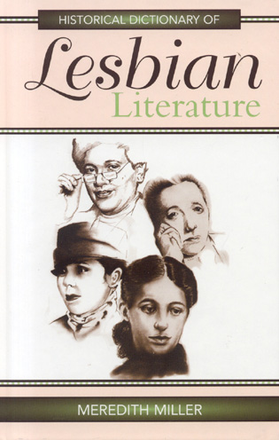 Cover image for the book Historical Dictionary of Lesbian Literature