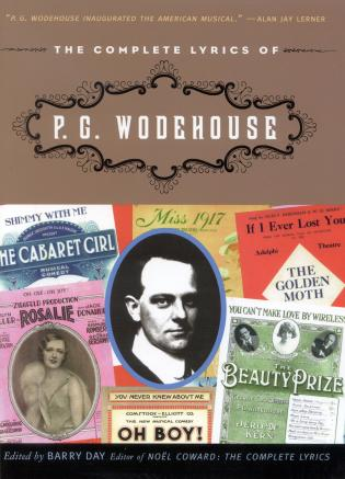 Cover image for the book The Complete Lyrics of P. G. Wodehouse