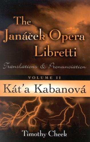 Cover image for the book Kat'a Kabanova: Translations and Pronunciation, Volume 2