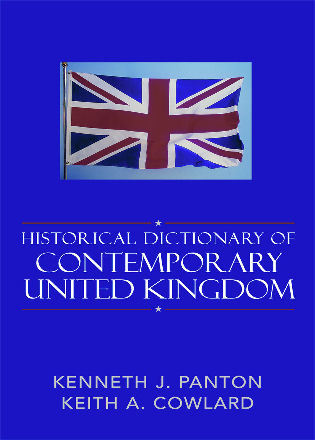 Cover image for the book Historical Dictionary of the Contemporary United Kingdom