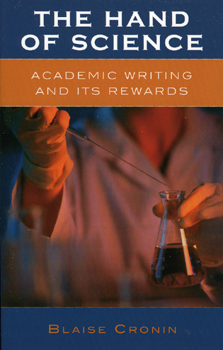 Cover image for the book The Hand of Science: Academic Writing and Its Rewards