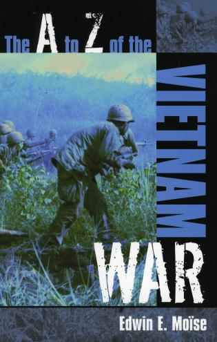 Cover image for the book The A to Z of the Vietnam War