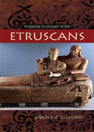Cover image for the book Historical Dictionary of the Etruscans