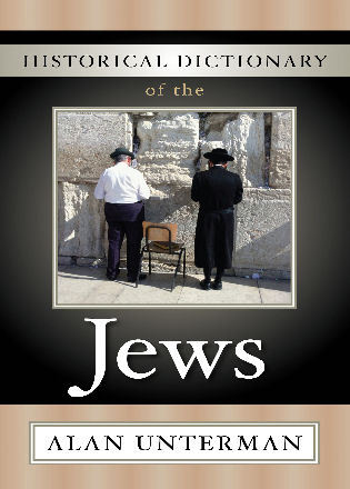 Cover image for the book Historical Dictionary of the Jews
