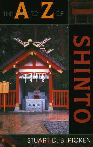 Cover image for the book The A to Z of Shinto