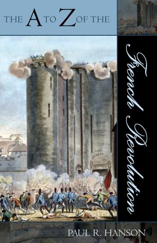 Cover image for the book The A to Z of the French Revolution