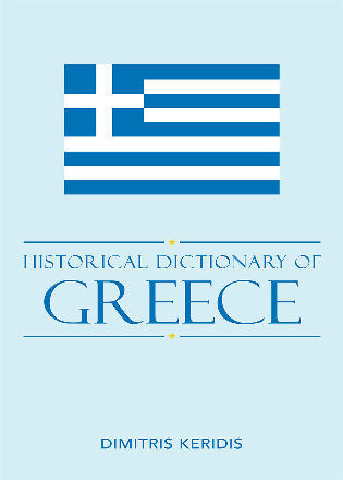 Cover image for the book Historical Dictionary of Modern Greece