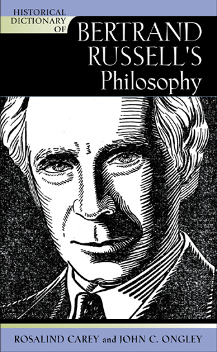 Cover image for the book Historical Dictionary of Bertrand Russell's Philosophy