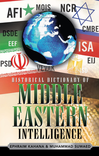 Cover image for the book Historical Dictionary of Middle Eastern Intelligence
