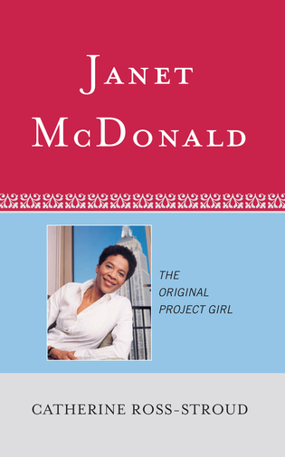 Cover image for the book Janet McDonald: The Original Project Girl