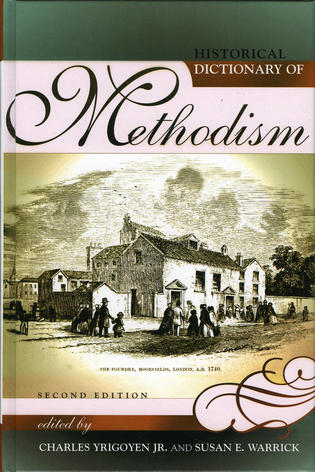 Cover image for the book Historical Dictionary of Methodism, Second Edition