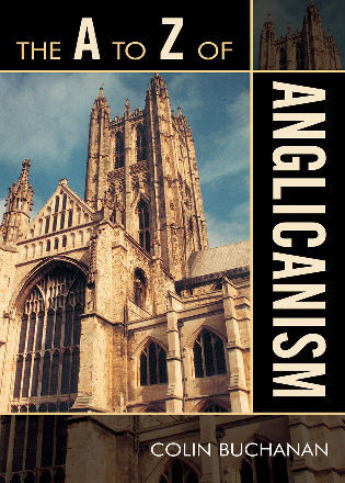 Cover image for the book The A to Z of Anglicanism