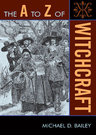 Cover image for the book The A to Z of Witchcraft