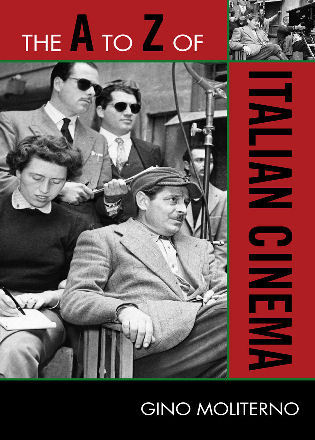 Cover image for the book The A to Z of Italian Cinema