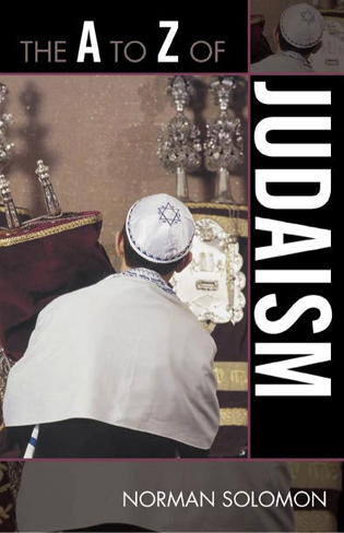 Cover image for the book The A to Z of Judaism