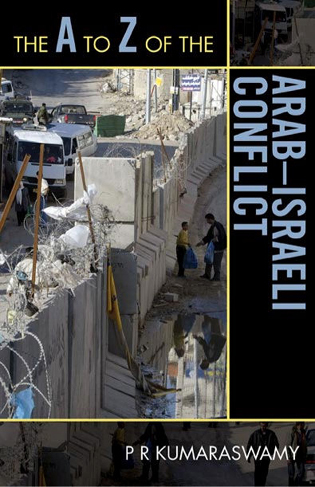 Cover image for the book The A to Z of the Arab-Israeli Conflict