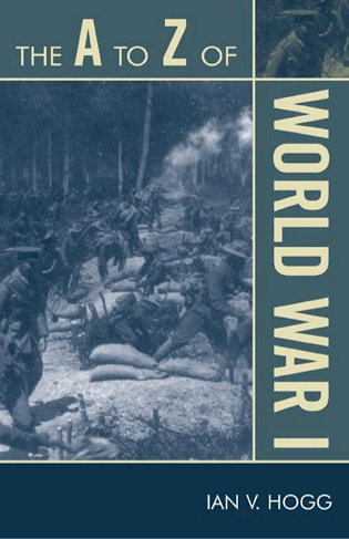 Cover image for the book The A to Z of World War I