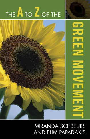 Cover image for the book The A to Z of the Green Movement