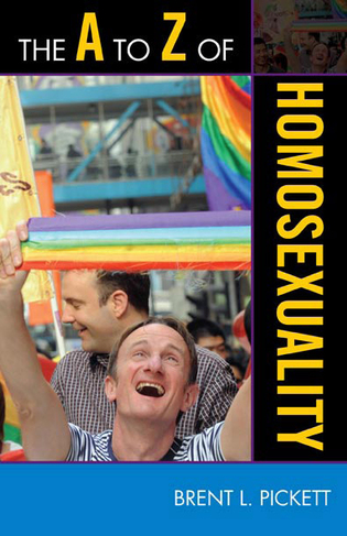 Cover image for the book The A to Z of Homosexuality