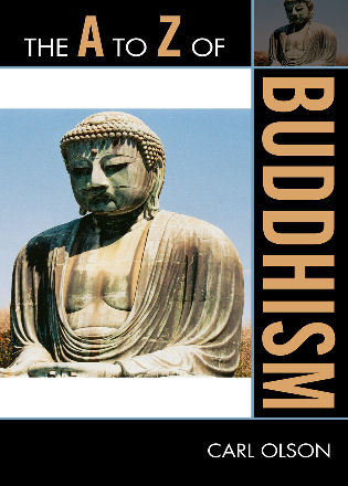 Cover image for the book The A to Z of Buddhism