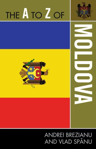 Cover image for the book The A to Z of Moldova