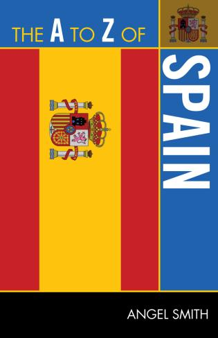 Cover image for the book The A to Z of Spain