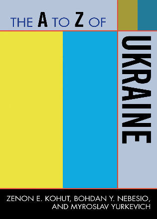 Cover image for the book The A to Z of Ukraine