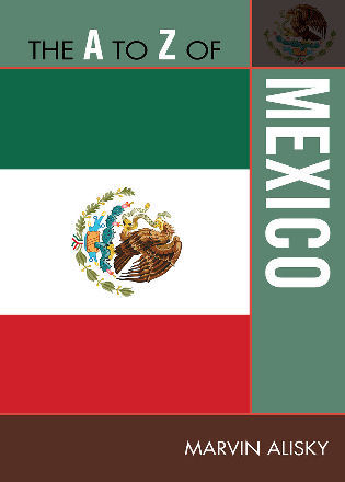 Cover image for the book The A to Z of Mexico