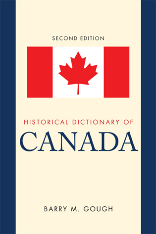Cover image for the book Historical Dictionary of Canada, 2nd Edition