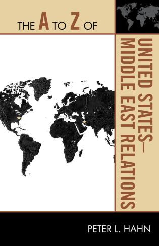 Cover image for the book The A to Z of United States-Middle East Relations