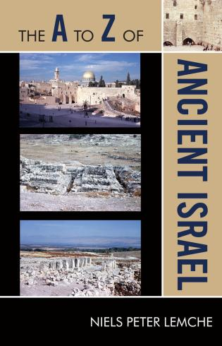 Cover image for the book The A to Z of Ancient Israel