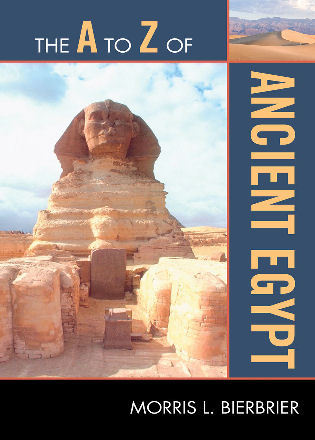 Cover image for the book The A to Z of Ancient Egypt