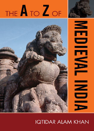 Cover image for the book The A to Z of Medieval India