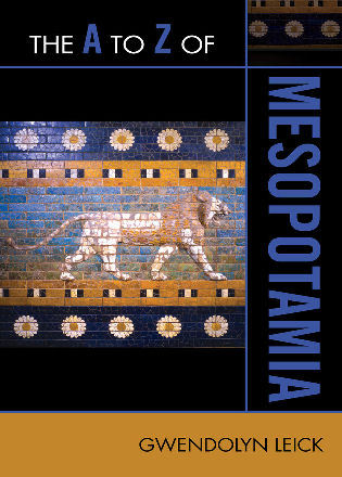 Cover image for the book The A to Z of Mesopotamia