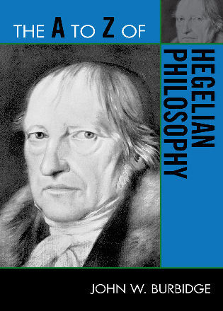 Cover image for the book The A to Z of Hegelian Philosophy