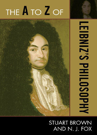 Cover image for the book The A to Z of Leibniz's Philosophy