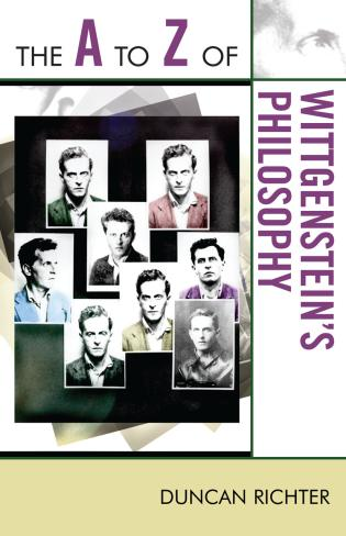 Cover image for the book The A to Z of Wittgenstein's Philosophy