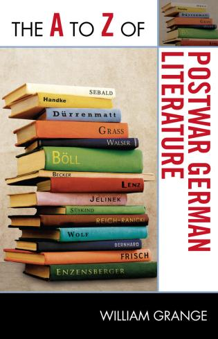 Cover image for the book The A to Z of Postwar German Literature