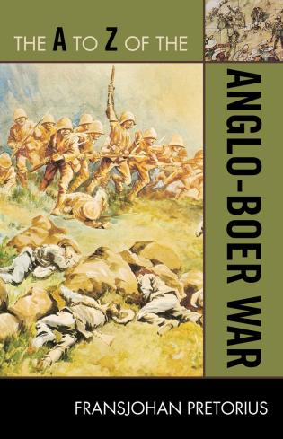 Cover image for the book The A to Z of the Anglo-Boer War