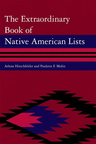 Cover image for the book The Extraordinary Book of Native American Lists