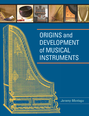 Cover image for the book Origins and Development of Musical Instruments