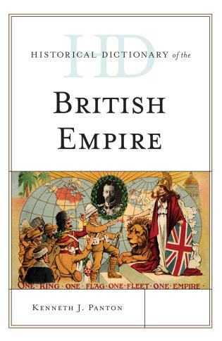 Cover image for the book Historical Dictionary of the British Empire