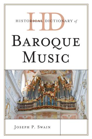 Cover image for the book Historical Dictionary of Baroque Music