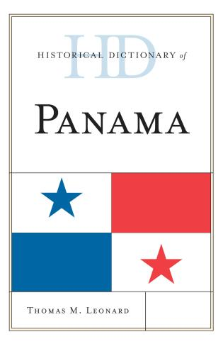 Cover image for the book Historical Dictionary of Panama
