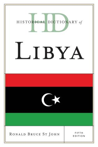 Cover image for the book Historical Dictionary of Libya, Fifth Edition