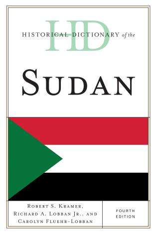 Cover image for the book Historical Dictionary of the Sudan, Fourth Edition